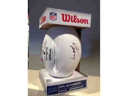 New England Patriots Signed Darelle Revis Ball
