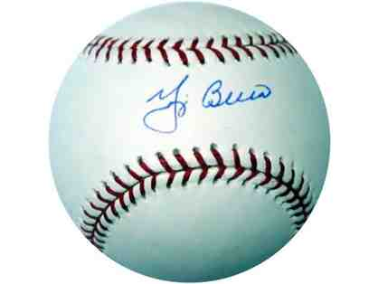 Yogi Berra Autographed Baseball New York Yankees