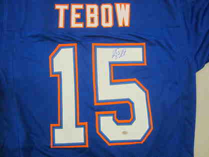 Tim Tebow Autographed Florida Gators Jersey