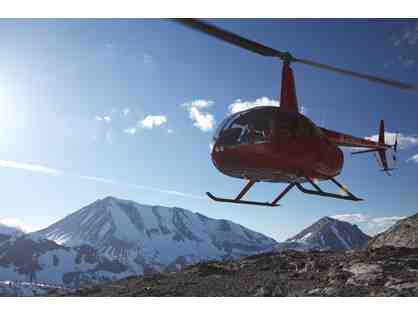 1 Hour AIR TOUR - Sight-Seeing Helicopter Tour for 4 People