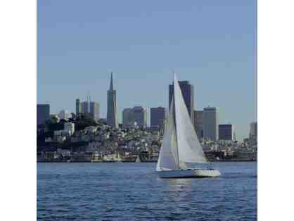 A Day of Sailing on San Francisco Bay for 4 People