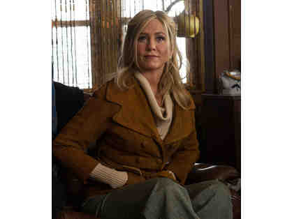 "Jennifer Aniston Suede Jacket from ""Life of Crime"", premiering at TCFF '14!"
