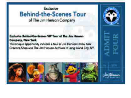 "Private Tour of The Jim Henson Company in NYC & signed mini-poster from ""Being Elmo"""