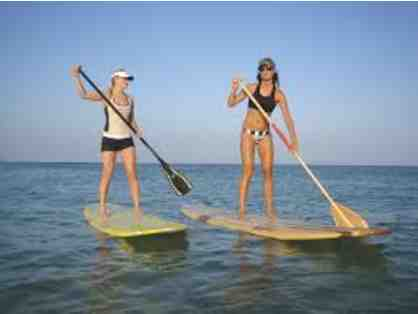 BUY NOW: One-Hour Paddle Board, Kayak or Bike at The River Traverse City