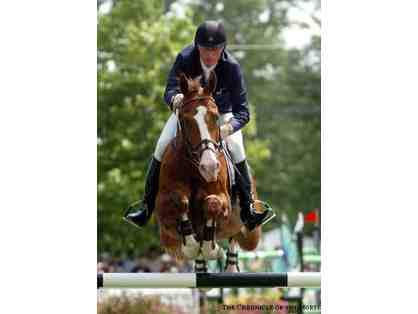 Riding Lesson with Olympic Showjumper Joe Fargis