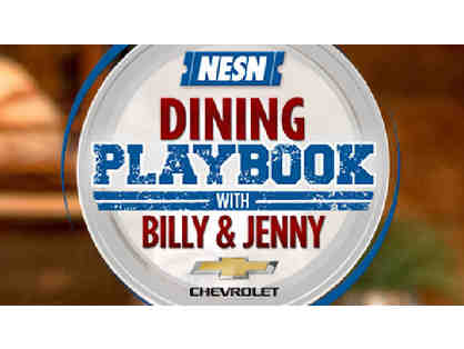 Quick Bites with Billy Costa & Jenny Johnson - be part of TV show, Dining Playbook