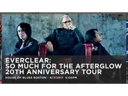 House of Blues - 2 Tickets to Everclear on June 7, 2017
