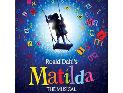 Two House Seats to MATILDA on Broadway and a Backstage Tour with Bryce Ryness