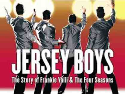 Jersey Boys on Broadway: 2 Tickets (Package #1)