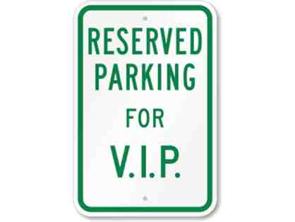 VIP Parking Space at Undercroft Montessori School