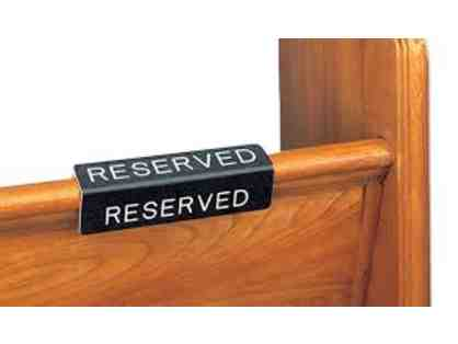 SJS Christmas Show - Reserved Pew & VIP Parking #3