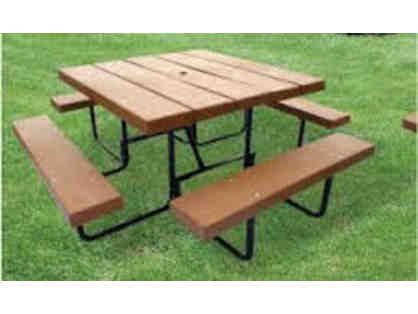 Barco Picnic Table for Veritas Outdoor Dining Area