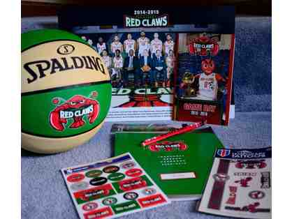 Maine Red Claws Basketball gift basket