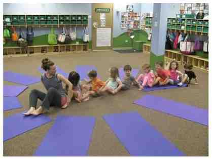Private yoga session for a family or kids' play group
