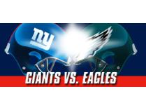 Two Philadelphia Eagles vs. New York Giants Tickets at MetLife Stadium w/PARKING!!