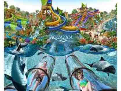4 Tickets to Aquatica Single Day Ticket