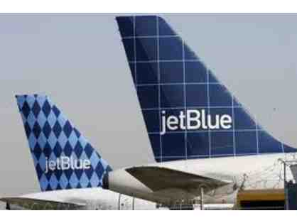2 Travel Certificates good for Roundtrip Travel on JetBlue