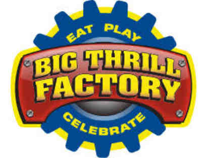 Big Thrill Factory - Family of 4 All Day Play Package