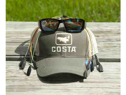 Costa Del Mar Men's Package - Black Frames