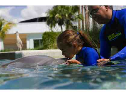 Up Close and Personal - Dolphin Odyssey for Two (2) with admission to Miami Seaquarium!