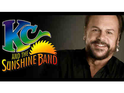 (2) Tickets to see KC & The Sunshine Band!