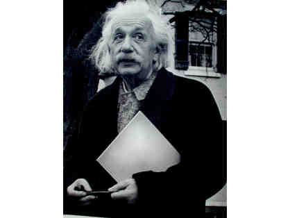 Albert Einstein 1946 photograph, art