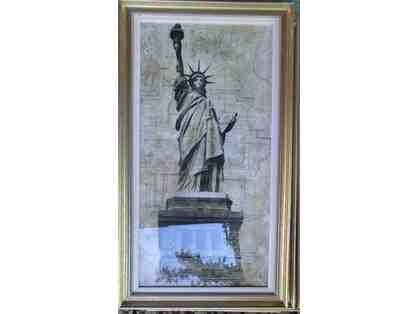Statue of Liberty print beautifully framed