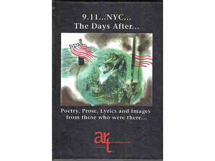 911 NYC historic arts book peace and courage.