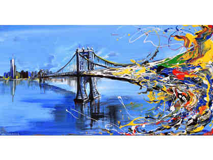 Bridge Splash by Artist Piero Manrique