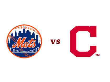 Two Seats - Mets vs. Indians - Sec 120 - Row 3 - August 22!