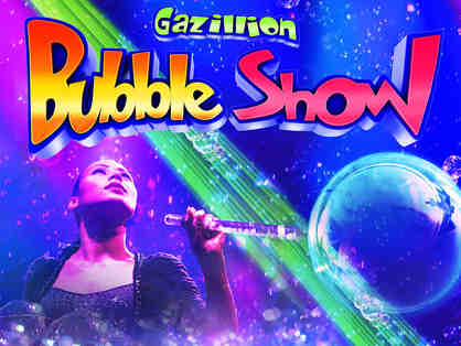 Gazillion Bubble Show at New World Stages
