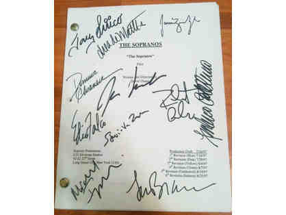 THE SOPRANOS -- Signed Pilot Script