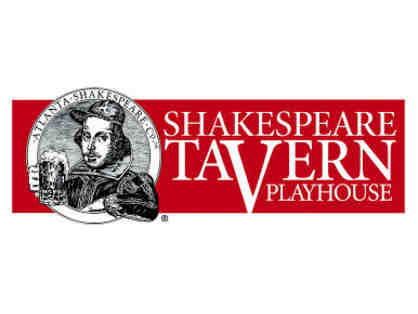 Shakespeare Tavern - VIP Pass- Box Seats for 2 to any season show