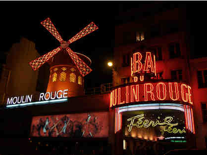 Paris oh-lala! Moulin Rouge and 2 Nights at Prince de Galles!