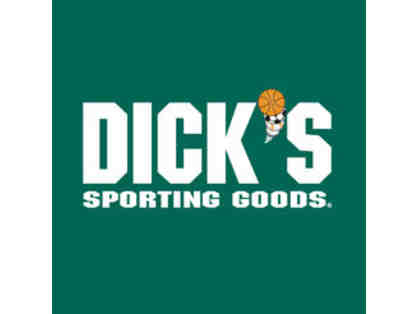 A $20 Certificate to Dick's Sporting Goods