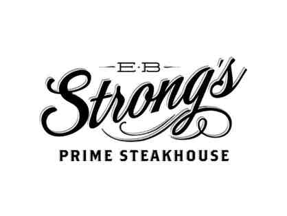 $50 Gift Certificate to EB Strong's