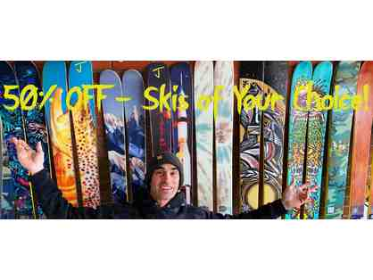 50% Off on Skis of Your Choice! - JSkis