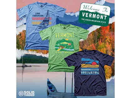 Cool Vermont Graphic T-shirt Series - 3 Pack