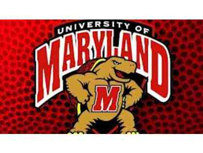 Four Tickets and Parking Pass for the University of Maryland vs Rutgers on Febraury 17
