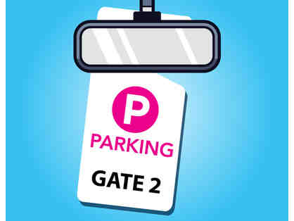 2019 Big Fresno Fair Reserved Parking Space in Gate 2