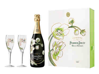 Perrier Jouet Belle Epoque Gift Pack with 2 etched Glasses