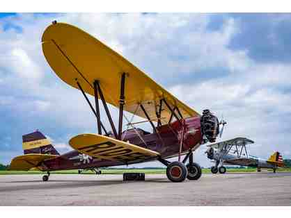 Legendary Boeing Stearman Flight Experience - Nostalgic WWII Adventure