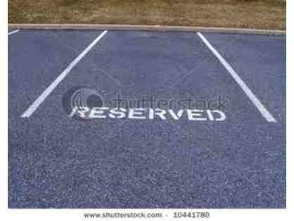 Reserved STC Parking Spot at BK
