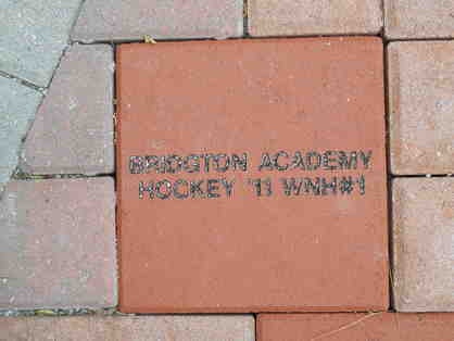 "Personalized 8""x 8"" Commemorative Brick"