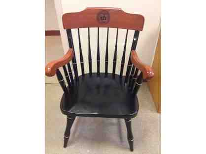 Bridgton Academy Seal Wooden Chair