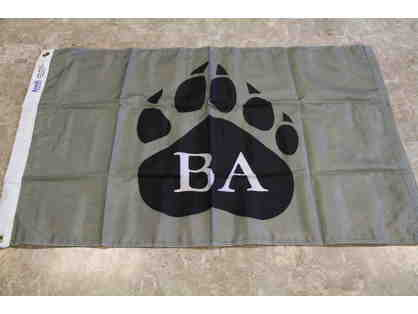 Bridgton Academy Pawprint Flag