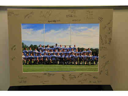2016-17 Wolverine Football Picture 13x19 Matted and Autographed