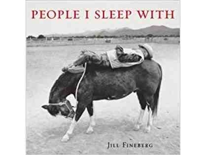 "Hardcover Book ""People I Sleep With"" by Jill Fineberg"