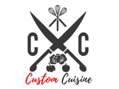 Chef Prepared and Delivered Dinner Service for 20 by Custom Cuisine.