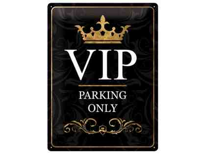 Visiting Day VIP parking pass